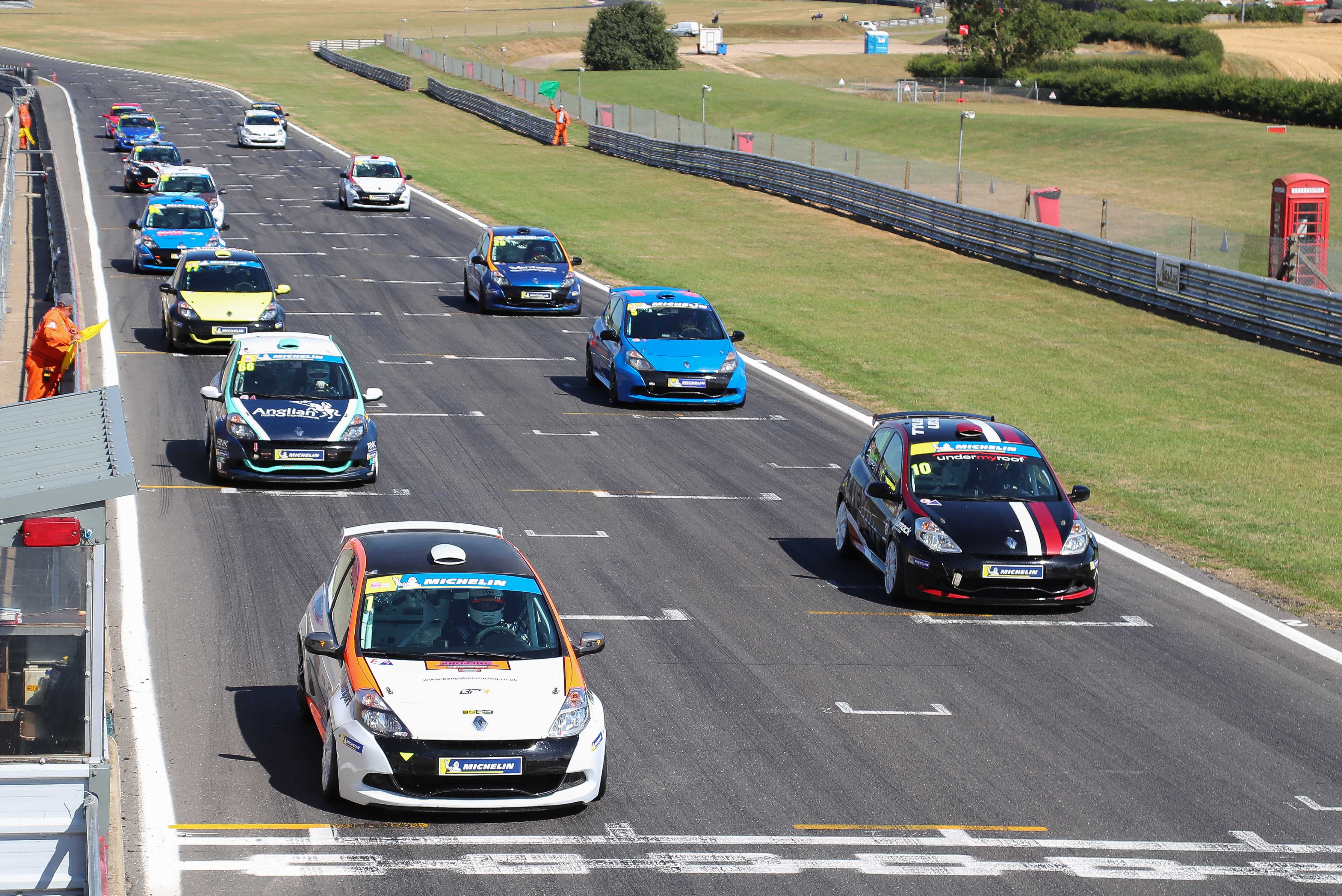 MICHELIN CLIO CUP SERIES SET FOR TRIPLE HEADER AT ANGLESEY