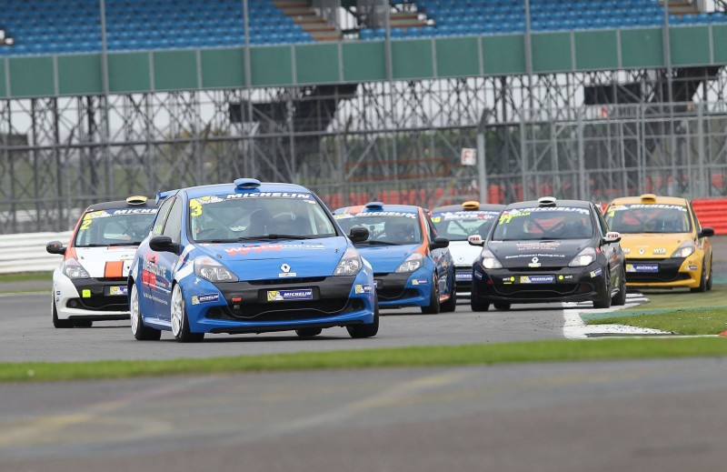 CLIO CUP SERIES CONTENDERS OUT IN FORCE AT SILVERSTONE TEST