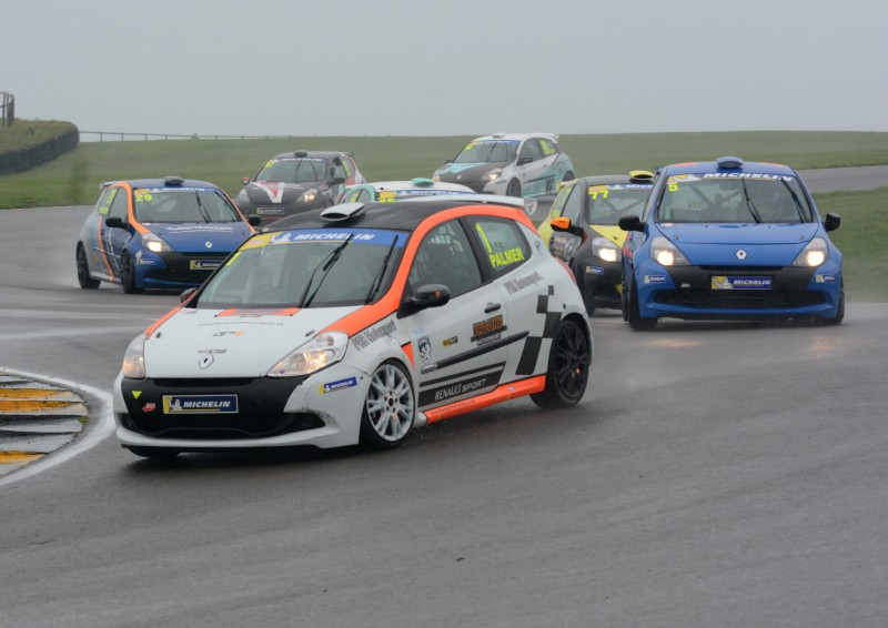 PALMER AND HARRISON SEAL MICHELIN CLIO CUP SERIES' RACE AND ROAD TITLES AT ANGLESEY
