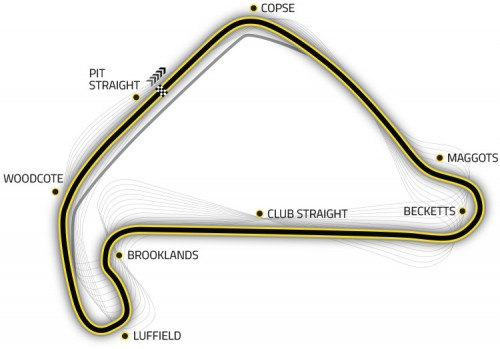 Course race map