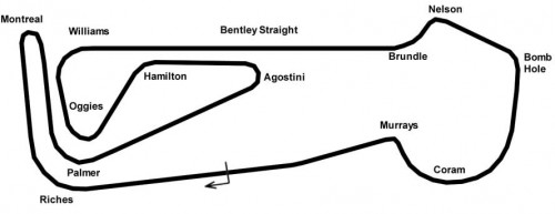Snetterton (300) race map