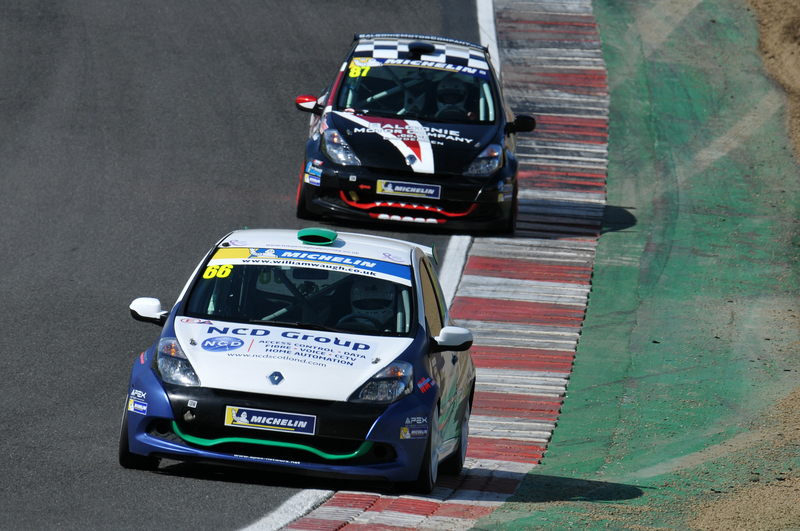 DOUBLE POLE FOR RONAN PEARSON AT BRANDS HATCH